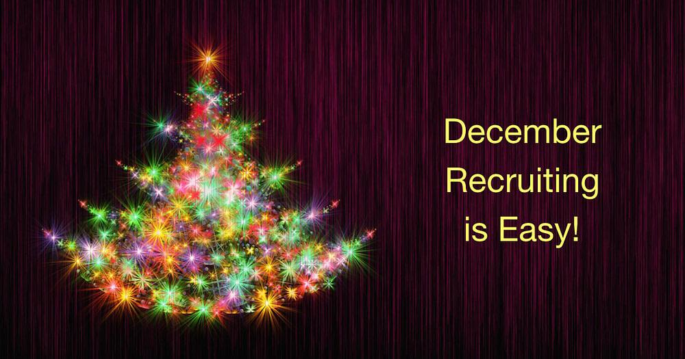 December recruiting