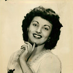 Santa was a Vaudeville Dancer - Her stage name was Nina Thomas and she was famous for tap dancing on her head!