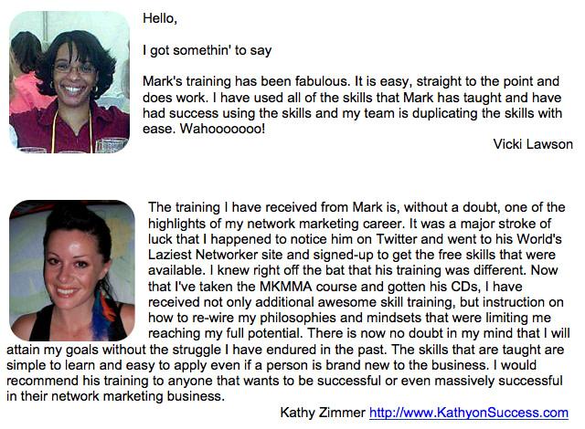 Vicki and Kathy Testimonial