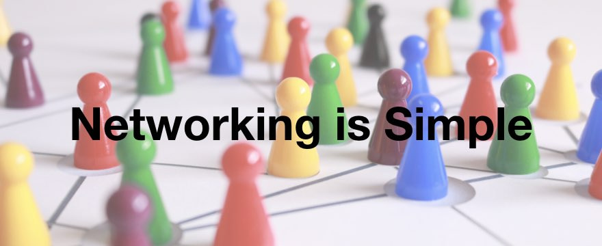 networking is simple